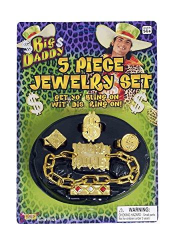 ing 5 Piece Costume Jewelry Set ()