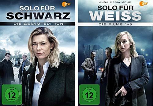 Solo für Schwarz (Gesamtedition) + Solo für Weiss - Filme 1-3 (7 DVDs)