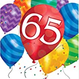 65. Geburtstag Ballon Blast Servietten Badger Inks Tonerpatronen