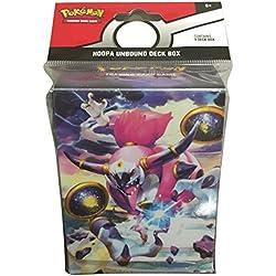 Hoopa Unblound Deck box pokemon 80 cartas