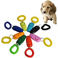 8 piezas Maravilloso Formación Taconeador + Silbar con cuerda para Formación Perro, Cachorros, Gatos