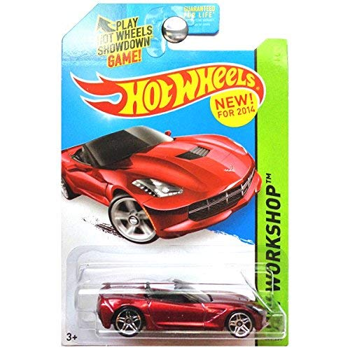 Hot Wheels 2014 14 Corvette Stingray Convertible HW Workshop 228/250 by Hot Wheels