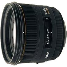 Sigma 310955 - Objetivo para Nikon (distancia focal fija 50mm, diámetro de 77 mm), negro