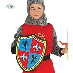 Escudo Medieval goma EVA 35 cm para niño