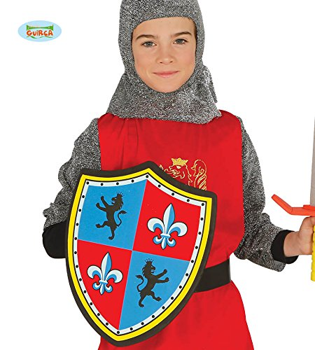Guirca Fiestas GUI18721 - Mittelalter-Schild, Kinder, E.V.A.