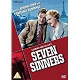 Seven Sinners (1936) ( Doomed Cargo ) ( The Wrecker ) [ NON-USA FORMAT, PAL, Reg.2 Import - United Kingdom ] by Felix Aylmer