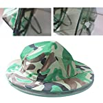 Katech Camouflage Beekeeping Hat Beekeeper Anti-mosquito Face Mask Outdoor Fishing and Camping Mosquito Netting Hat Protective Equipment 12