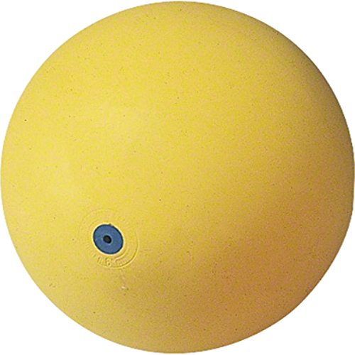 ikball Gummiball Ball 6 Zoll gelb Naturkautschuk talentkiste Yoga Made in Germany ()