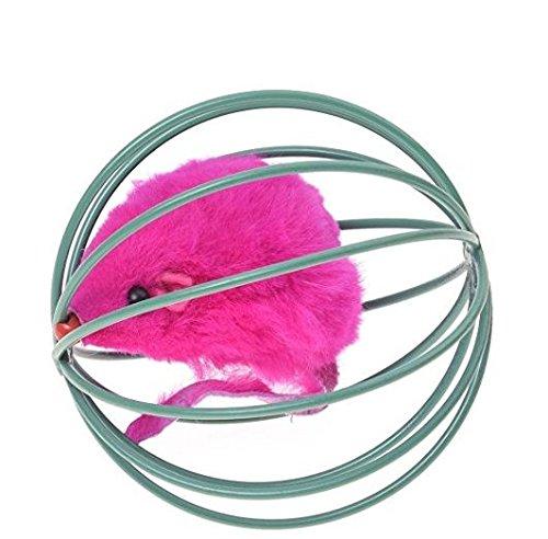 Ndier Ball-Spielzeug für Katzen-Käfig-Spielzeug und mit Einer Maus nach innen Halloween Spielzeug (Halloween Ball Fördert)