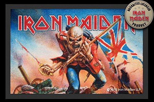 Felpudos Música diseño de Iron Maiden