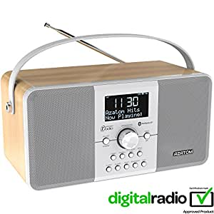 azatom multiplex dab digital fm radio bluetooth battery. Black Bedroom Furniture Sets. Home Design Ideas