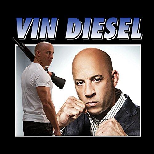 Vin Diesel Shotgun Montage Women's Sweatshirt Black