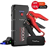 Jump Starter Portable Car Battery Pack 1500A All Gas/6.5L Diesel Engine 12V Booster