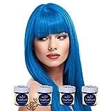 La Riche Directions Haartönung, mittlere Haltbarkeit, verschiedene Farben erhältlich, 88ml, 4Packungen