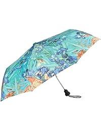 VON LILIENFELD Paraguas de bolsillo motivo del arte Vincent van Gogh: Lirio