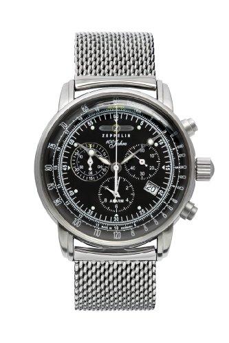 Zeppelin Watches - 7680M2 - Montre Homme - Quartz Analogique - Bracelet Acier Inoxydable
