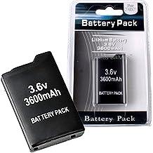 BATTERIA 3600 mAh SONY PSP 1000 FAT 1003 1004 E de gran capacidad DURATA