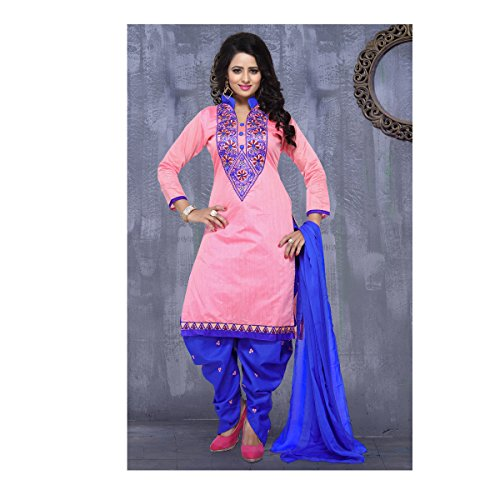 S P Marketing Cotton Embroidery Patiala Salwar Suits(fr2300)