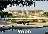 WienAT-Version  (Wandkalender 2016 DIN A2 quer): Wiener Bauten und Sehenswürdigkeiten (Monatskalender, 14 Seiten ) (CALVENDO Orte) - Rudolf J. Strutz