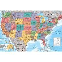 Estados Unidos Póster - Póster de formato grande