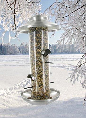 Vogelfutterhaus im exclusiven dänischen Design - Vogelhaus Vogelstation Futterhaus Vogelhäuschchen Futterhaus Vogelfutterstation