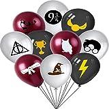Suministros para la fiesta de Harry Potter - WENTS 20PCS Suministros de globos de mago mágico para decoración de fiesta de cu