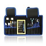 63en1 Destornilladores Precision Completa Juego de Destornilladores Profesional Herramientas para Ordenador,Gafas, PC, Teléfono, Smart Phone, Reloj, Portátil, Apple, iPhone, Samsung, iPad, Tableta