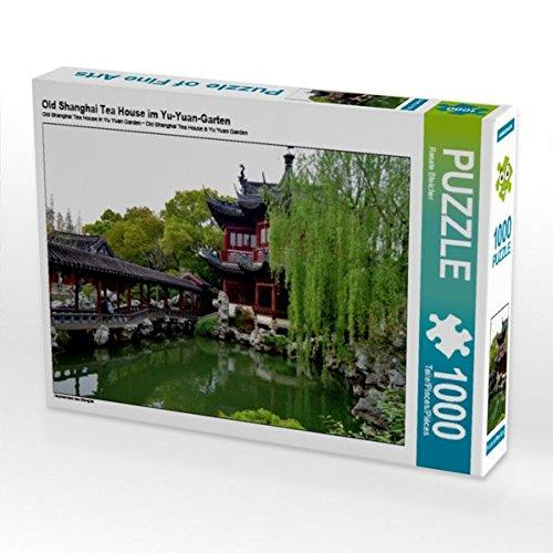 Old Shanghai Tea House im Yu-Yuan-Garten 1000 Teile Puzzle quer: Impressionen aus Shanghai (CALVENDO Orte)