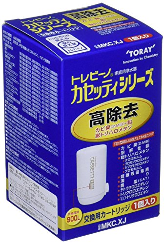 [Type (clear 13 items) 1 pcs high removal] MKC.XJ Kasettishirizu water purifier replacement cartridge Torebino Toray (Japan import) by N/A -