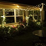 LE 20m 200 LED Copper Wire Lights, IP65 Waterproof Plug in Fairy Lights, Warm White Decorative String Lights for Party, Wedding, Garden and More Bild 3