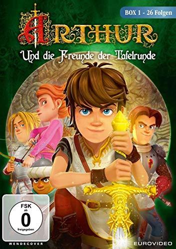 Arthur und die Freunde der Tafelrunde - Box 1 mit 26 Folgen [2 DVDs] (Arthur Kinder Dvd)
