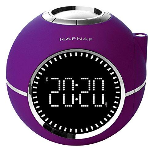 Radio-réveil projecteur NAF NAF Clockline V2