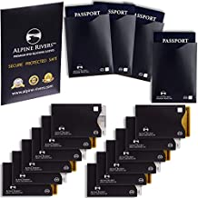 15bloqueo RFID mangas (12tarjetas de crédito y