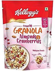 Kellogg's Crunchy Granola Almonds and Cranberries, 460g