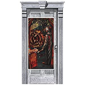 Amscan International - 241164 1,65 M x 85 cm espeluznante Carnaval Decoración De Puerta Kit