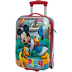 Disney Mickey Play Bagage Cabine, 48 cm, 28.8 L, Rouge