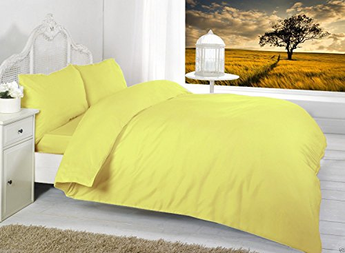bedway-luxury-68-pick-polycotton-plain-dyed-duvet-cover-quilt-cover-with-free-pillow-pair-cases-doub