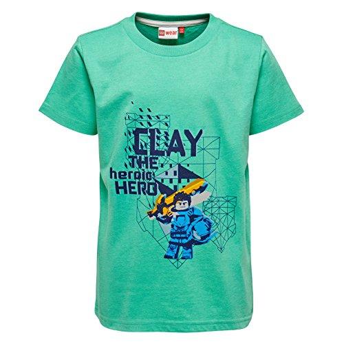 Lego Wear Jungen T-Shirt Lego Nexo Knights Thomas 304 Grün (Green 856), 116