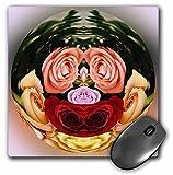 """decorativo colorato giardino botanico """"globo astratto fiore rose stampa d' arte è """" x .25""""x  ed è realizzato in resistente gomma riciclata. Finitura opaca delle immagini non sbiadiscono o buccia. Lavabile in lavatrice con un detergente delicato e as..."""