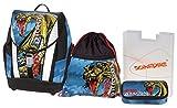 Schneiders ViennaToolbag Soft Schulranzenset Wild Dragon, Sportbeutel, Schlamperetui, Heftbox, 4 teiliges