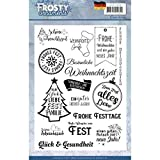 Jeanines Art Clear Stamps - Frosty Ornaments - DE