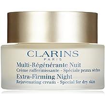 Clarins Exta Firming Night - Crema de noche para pieles secas, 50 ml