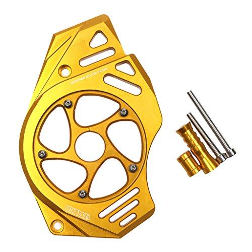 Baoblaze 1 Set Kettenschutzabdeckung Motorschutz Zubehör Rahmen Anbauteile für Kawasaki ER6N ER4F VN650 - Gold