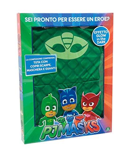 Giochi Preziosi–Super pigiamini PJ Masks Kostüm Karneval Gecko, Größe ()