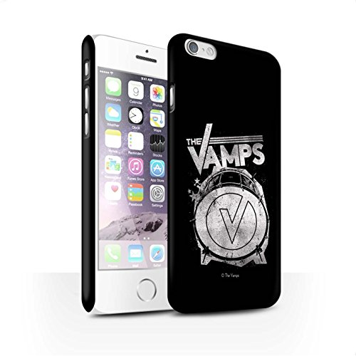 Officiel The Vamps Coque / Clipser Matte Etui pour Apple iPhone 6S / Pack 6pcs Design / The Vamps Graffiti Logo Groupe Collection Grosse caisse