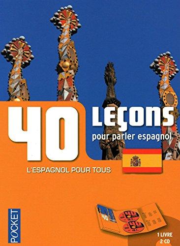 40 Leçons pour parler espagnol (2CD audio) par Pierre Gerboin, Jean Chapron