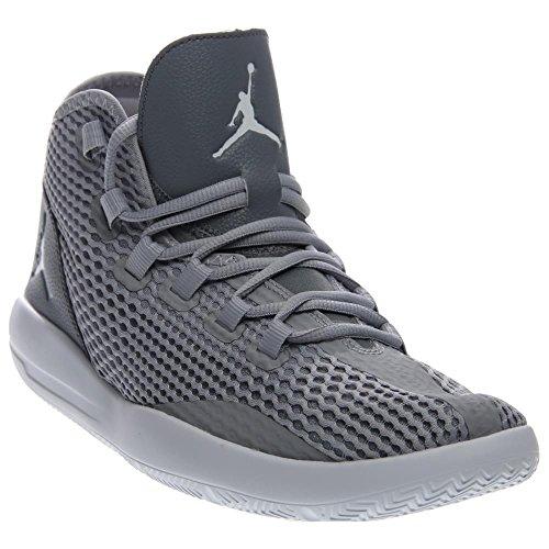 Nike Herren Jordan Reveal Basketballschuhe, Talla Gris (Wlf Gry / White-Cl Gry-Infrrd 23)