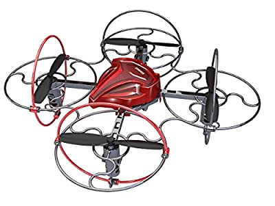 SilverLit Space Comet 4-Channel Radio Control Quadrocopter with Gyro and 4-Axis Flip Facility