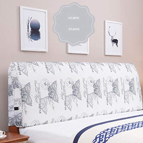 MGMDIAN Kinder Stoff Kopfteil Soft Pack Matratze großen Rücken Doppel-Holz Bettdecke Kissen Dreidimensionales Rückenlehnenkissen (Color : B, Size : 120cm)