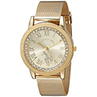 U.S. Polo Assn. Dress Watch For Women Analog Metal - USC40110